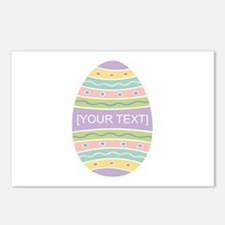 Your Text Easter Egg Postcards (Package of 8)