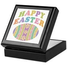 Happy Easter Egg Keepsake Box