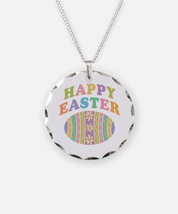 Happy Easter Egg Necklace