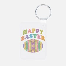 Happy Easter Egg Keychains