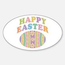Happy Easter Egg Decal
