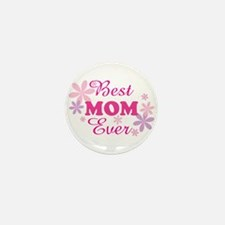 Best Mom Ever fl 1.1 Mini Button (100 pack)