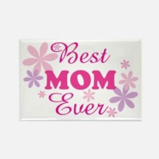 Best Mom Ever fl 1.1 Rectangle Magnet (10 pack)
