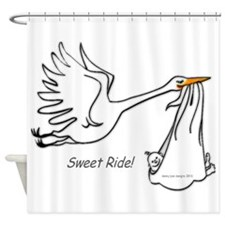 Sweet Ride! Shower Curtain