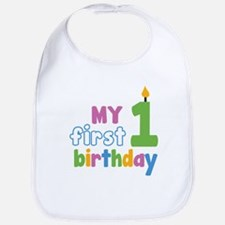 First Birthday Bib