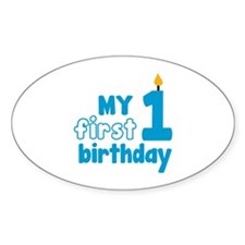 First Birthday Decal
