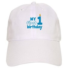 First Birthday Baseball Baseball Cap