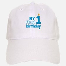 First Birthday Baseball Baseball Cap