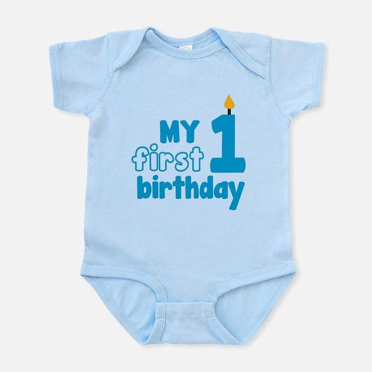 First Birthday Infant Bodysuit