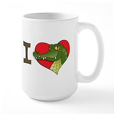 I heart crocs Mug