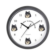 Finnish Lapphund Wall Clock