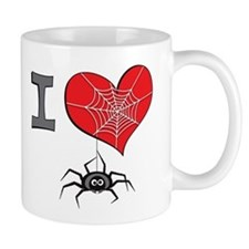 I heart spiders Mug