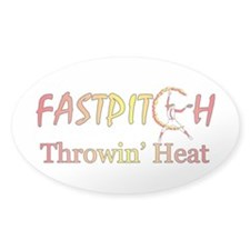 Fast Pitch Softball Version 2 Decal