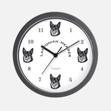 Lapponian Herder Wall Clock