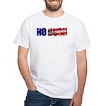 White No Bush T-Shirt