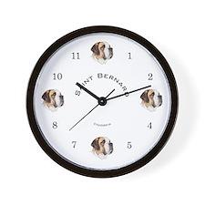 Saint Bernard  Wall Clock