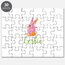Easter Bunny Leslie Puzzle