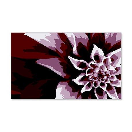 Deep Purple Flower 20x12 Wall Decal
