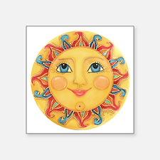 Sun Face #3 - Summer Sticker