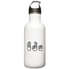 420 fingers Sports Water Bottle