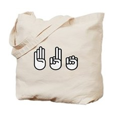 420 fingers Tote Bag
