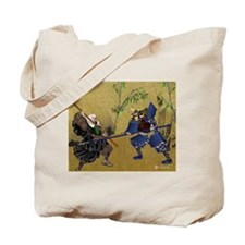 Tote Bag, Warrior Monk