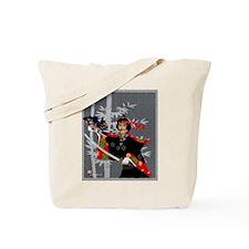 Tote Bag, Kabuki Warrior