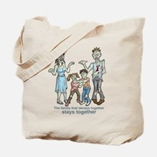 Zombies: Family Decay Tote Bag