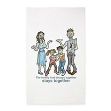 Zombies: Family Decay 3'x5' Area Rug