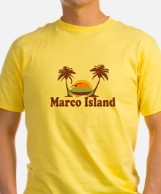 Marco Island - Palm Trees Design. T