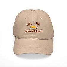 Marco Island - Palm Trees Design. Cap