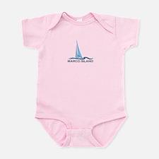 Marco Island - Sailing Design. Infant Bodysuit