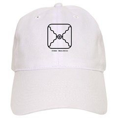 White Mirror Baseball Cap