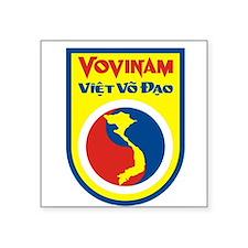 """Vovinam logo Square Sticker 3"""" x 3"""""""