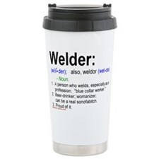 Unique Weld Travel Mug