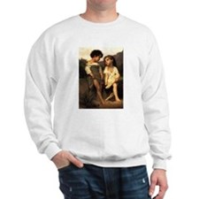 At The Edge of The Brook Ash Grey Sweatshirt