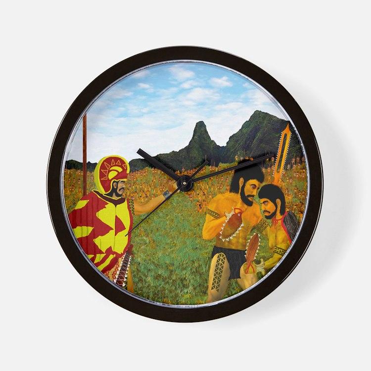 Wall Clock, Defending lao Valley