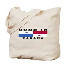 Born In Panama Tote Bag