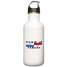 Born In Panama Water Bottle