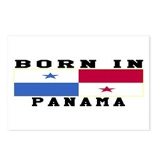Born In Panama Postcards (Package of 8)