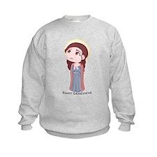 Catholic Saint Genevieve Sweatshirt