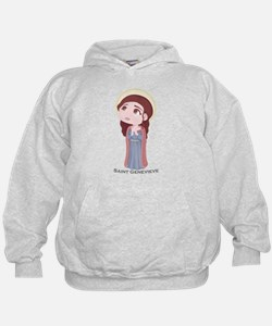Catholic Saint Genevieve Hoody