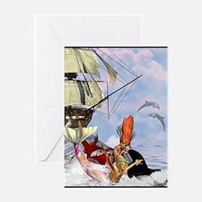 Best Seller Merrow Greeting Card