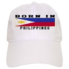 Born In Philippines Baseball Cap