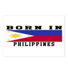 Born In Philippines Postcards (Package of 8)