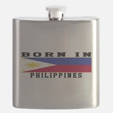 Born In Philippines Flask
