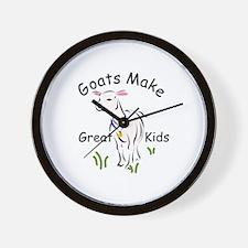 Goats Cafe Wall Clock