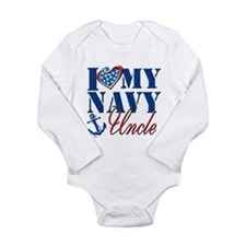 I Love My Navy Uncle Body Suit