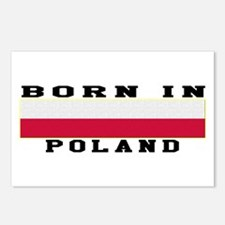 Born In Poland Postcards (Package of 8)