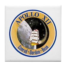 Apollo 12 Tile Coaster